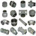Verzinkte Fittings