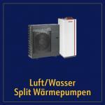Luft/Wasser Split Wärmepumpen