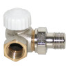 HEIMEIER Thermostat-Ventilunterteil V-exact II, Winkeleck/links, DN 15