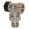 HEIMEIER Thermostat-Ventilunterteil Standard, Eckform, DN...