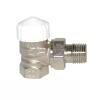 HEIMEIER Thermostat-Ventilunterteil V-exact II, Eckform, DN 10, vernickelt