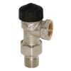 HEIMEIER Thermostat-Ventilunterteil umkehr Flußrichtung, Eckform, DN 15