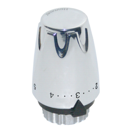 HEIMEIER Thermostat-Kopf DX verchromt 670000501
