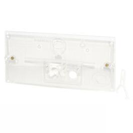 Transparente Schutzplatte m.Hebelmechanik und Bügel 240.026.00.1
