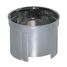 Allmess Verlängerungsrosette ohne Objektiv verchromt für Unterputz-Wasserzähler, bis 60mm