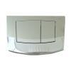 TECE ambia WC-Betätigungsplatte, 2-Mengentechnik, chrom glänzend