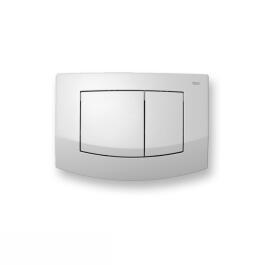 TECE ambia WC-Betätigungsplatte, 2-Mengentechnik, weiß