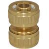 Schlauchverbinder 12/15 mm aus Messing