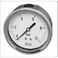 """Rohrfeder-Manometer d=63 mm, 1/4"""", 0-10 bar, axial"""