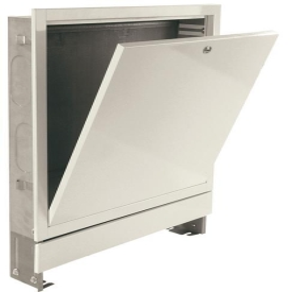 Verteilerschrank 1000 mm Unterputz 12 Heizkreise weiß lackiert H: 750 - 850 mm T: 110-165 mm