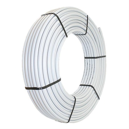 Metallverbundrohr unisoliert / 100 Meter / Rolle, 20mm x 2,0mm PEX/AL/PEX (DVGW geprüft)