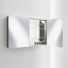 SPRINZ Modern-Line Spiegelschrank Modell 02, 2-türig, verschiedene ... | {Spiegelschrank modern 12}