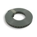 Lochband, Montageband kunststoff ummantelt 19mm 10m/Rolle