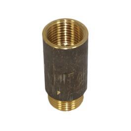 Messing Verlängerung 1/2 Zoll x 80mm