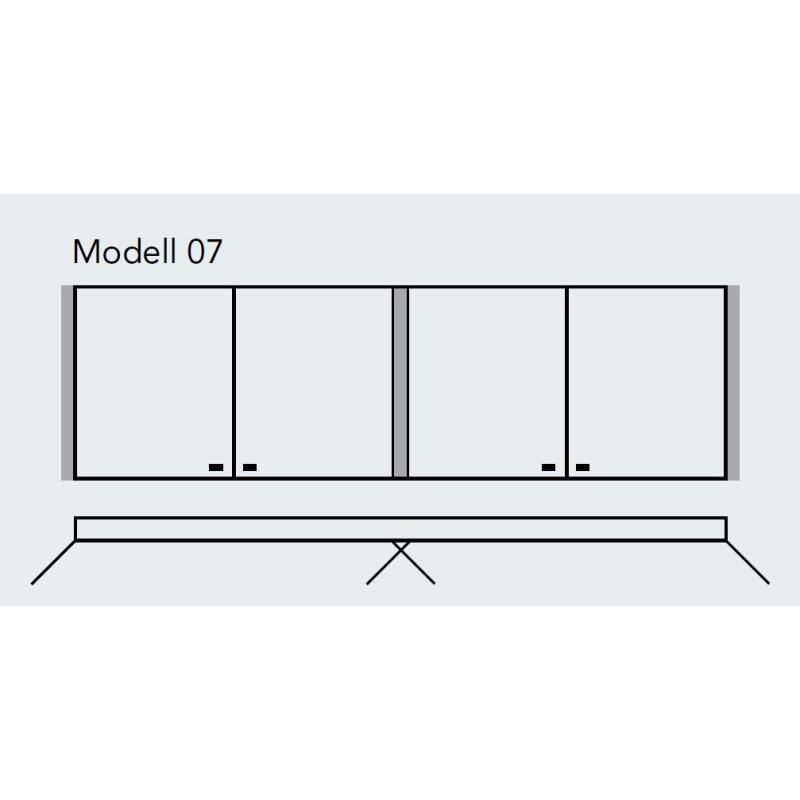sprinz elegant line spiegelschrank modell 07 4 t rig mit. Black Bedroom Furniture Sets. Home Design Ideas