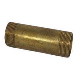Messing Rohrnippel 1 Zoll x 120mm