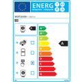 Wolf Gas-Brennwert-Heiztherme CGB-2 14 kW Ohne Regelung Inkl. Anschlüsse Aufputz Inkl. 200 l Speicher emailliert Inkl. 1,8 m Grundpaket Dach mit rotem Ziegel