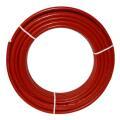 Metallverbundrohr rot isoliert, verschiedene...
