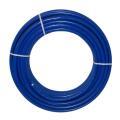 Metallverbundrohr blau isoliert verschiedene...
