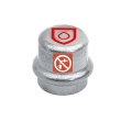 C-Stahl Pressfitting Kappe verschiedene Größen