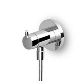 """Zucchetti Simply Beautiful UP-Brausearmatur mit AP-Anschluss 1/2"""" Sichtteil chrom"""