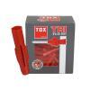 TOX TRI-Dübel 12 x 71 Inhalt 25 Stück