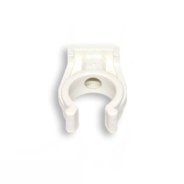 Rohr-Clip einfach, weiß, in versch. Größen