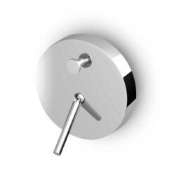 Zucchetti Isystick UP-Wannenfüll- und Brausearmatur Sichtteil