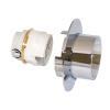 Allmess Unterputzwasserzähler UP 6000-MK +m mit Messkapsel, MES 3-W +m warm Qn 1,5m³/h