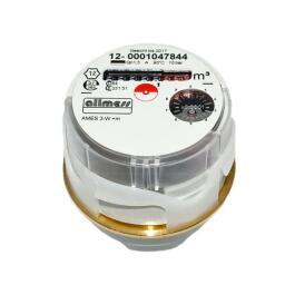 """Allmess Austauschwasserzähler Messkapselsystem 3/4"""" AMES 3-K +m warm Qn 1,5m³/h"""