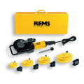 REMS CURVO elektrischer Rohrbieger Set 15-18-22-28