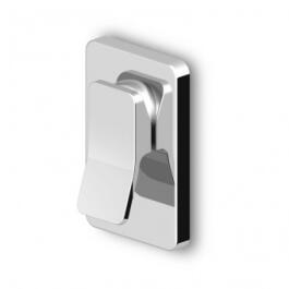 Zucchetti Soft UP-Brausearmatur Sichtteil chrom