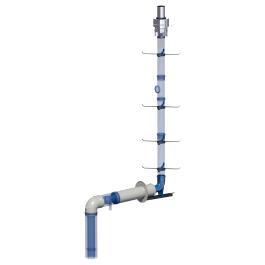 Grundpaket Schornstein DN 80/125mm für Brennwerttherme / Brennwertkessel