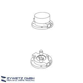 Zucchetti Unterputz-Einbaukörper R99676 zu freistehender Waschtischarmatur