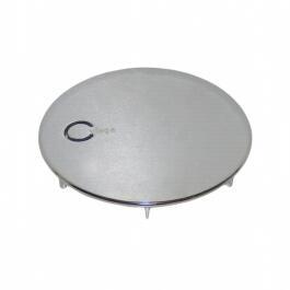 Fertigbauset/Farbset Domoplex für Ablaufloch 52mm chrom