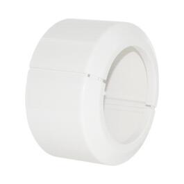Kunststoffrosette 110mm, weiß