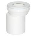 Viega WC Anschlussstutzen DN100 x 155 mm Kunststoff...