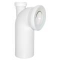 Viega WC Anschlussbogen 90 Grad mit Abgang 50mm nach...