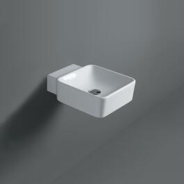 SIMAS Flow Handwaschbecken, weiss, 390 mm