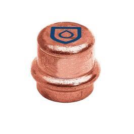 Kupfer Pressfitting Kappe 18mm
